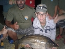 Kapr obecný, 70 centimetrů, 8 kg, na svazové vodě řece Berounce_1